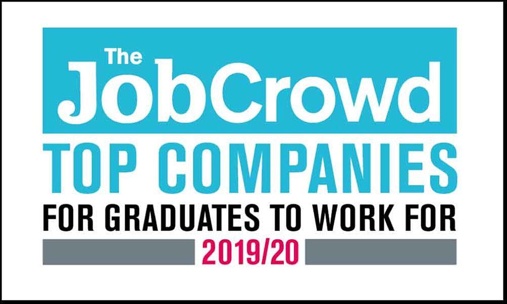 JobCrowd top companies award